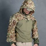 EmersonGear Lightweight Tactical Hunting Assault Ghillie Cloak for Outdoor Airsoft Battle - MC