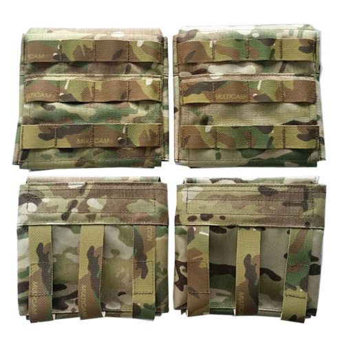 CP 500D CORDURA Plate Carrier Molle Panel 1Pair AVS 6x6  Tactical Vest Side Panel Tactical Vest Accessories- Multicam