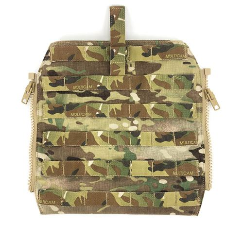 CP 500D CORDURA JPC2.0 Molle Backpack Zip On Panel 1.0 JPC Jasmine Tactical Vest Accessories- Multicam