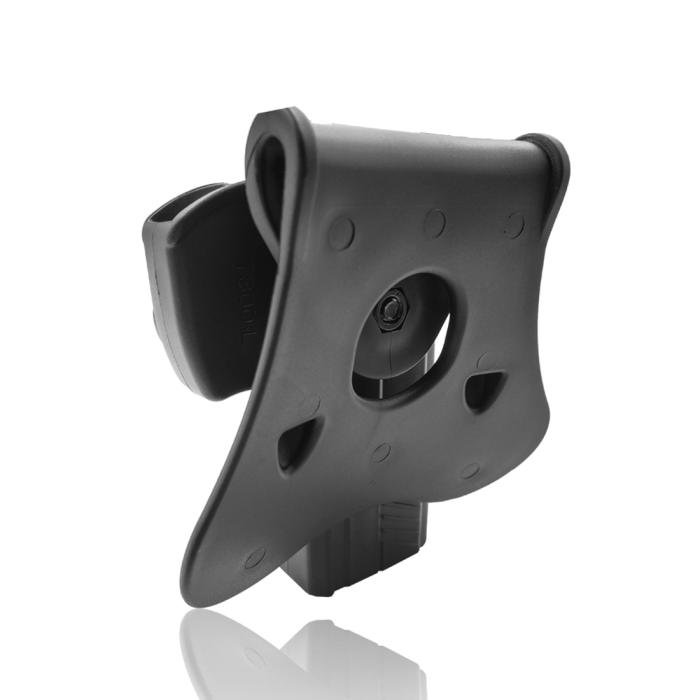 Amomax Adjustable Tactical Holster for Taurus PT800 Series - Right-handed Black