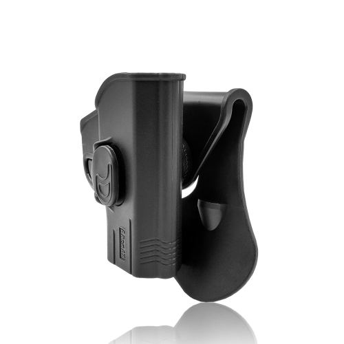 Amomax Ruger LC-380 Ruger LC-9 Tactical Holster for Airsoft -Right-handed Black