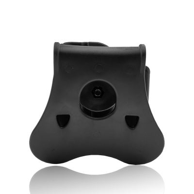 """Amomax Tactical Holster for Springfield XD/ 45ACP/ HS2000 9mm/ HS2000 SubCompact 3"""" 9mm/ Girsan MC28 - Right-handed Black"""