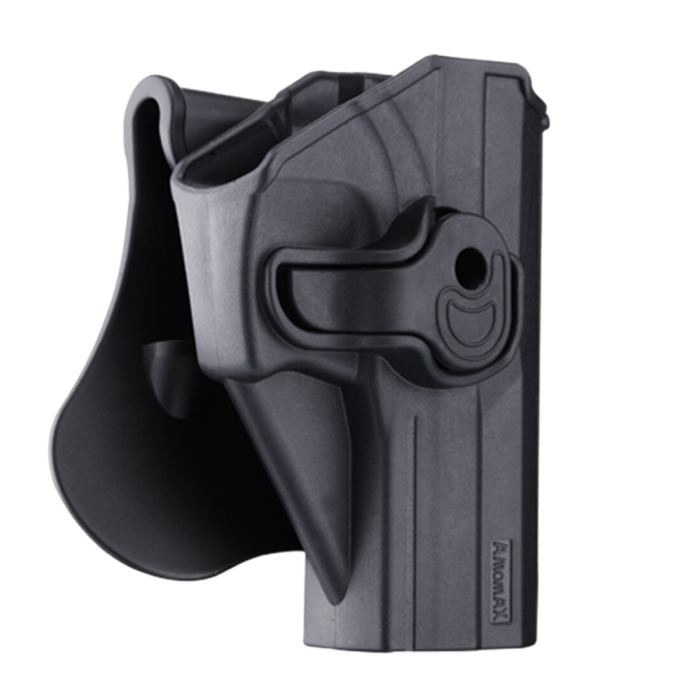 Amomax Adjustable Tactical Holster for KWA/ Umarex USP Full Size/ Airsoft G&G GTP9 - Right-handed