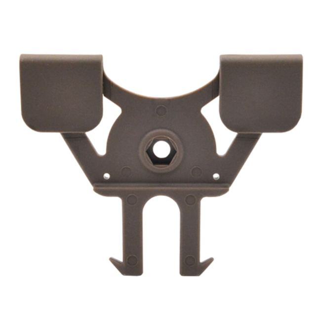 Amomax Tactical Hard Shell MOLLE Mount Compatible with All Amomax Holsters