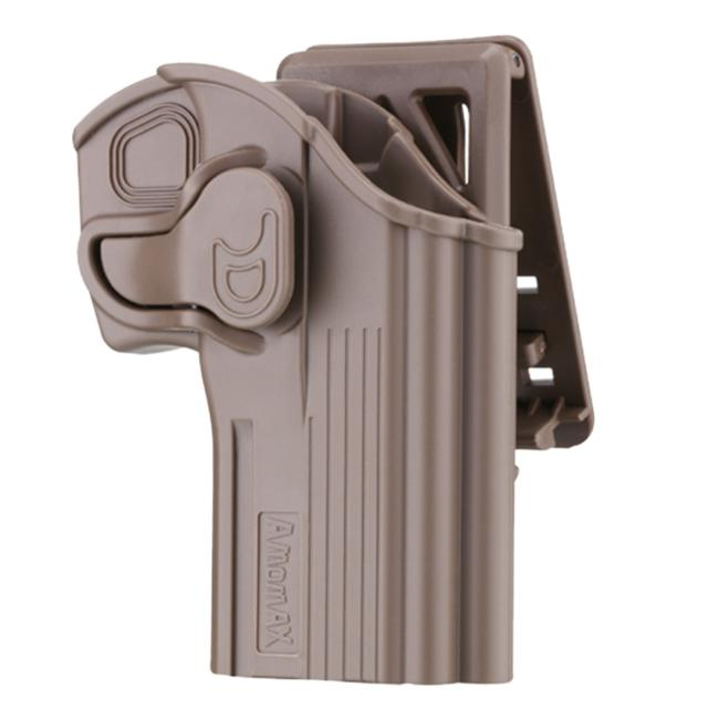 Amomax Tactical Holster for CZ 75D Compact/ Taurus 24/ 7 -Right-handed