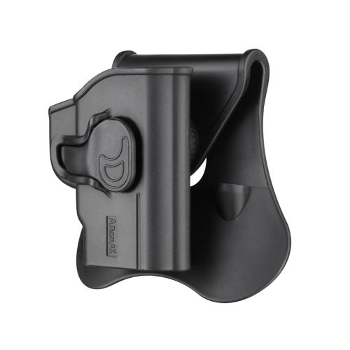 Amomax S&W Bodygurad.380 Tactical Holster for Airsoft -Right-handed Black