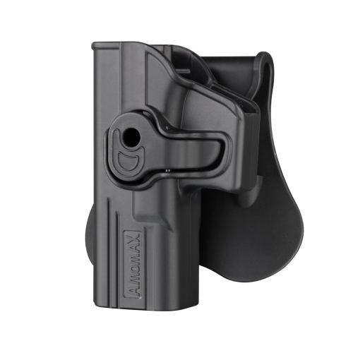 Amomax Tactical Holster for WE Tokyo Marui KJW Glock - Left-handed Black