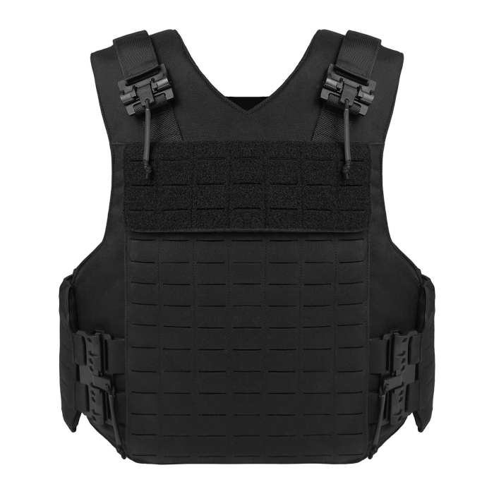 UTA D-buffalo Laser Cutting Molle Plate Carrier Anti-stab Police Tactical Vest