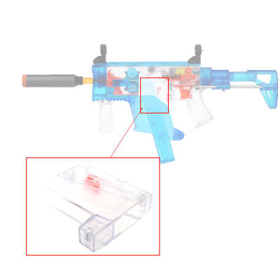 Worker Electric Oblique Talon Magazine Magwell with Full Auto Push Rod