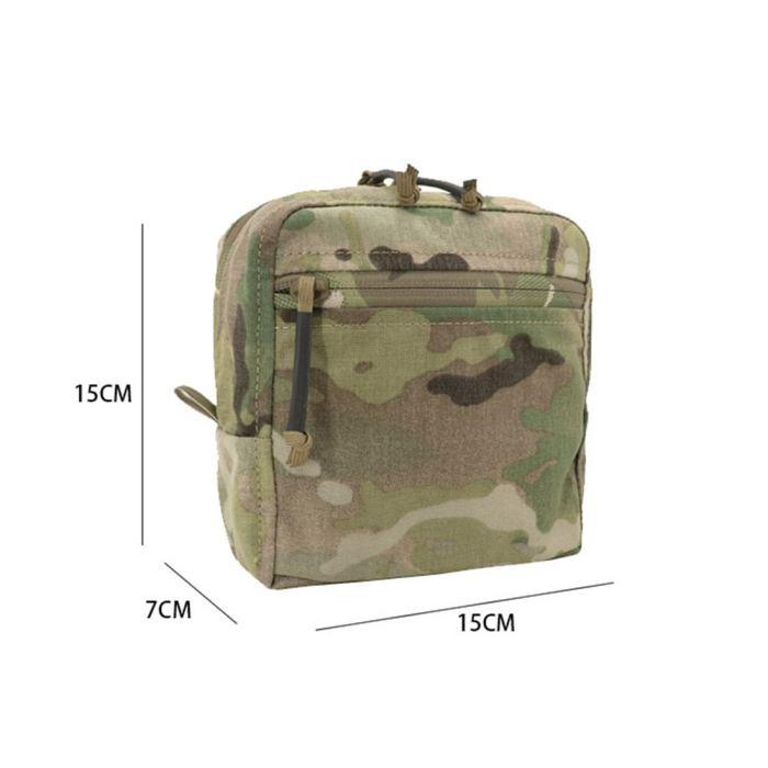 Crye Precision GP Tactical Dump Pouch 6×6×3 CORDURA Square - Multicam