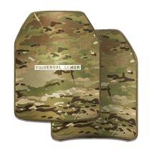 UTA 2Pcs NIJ IIIA PE Strike Face Tactical Ballistic Plate