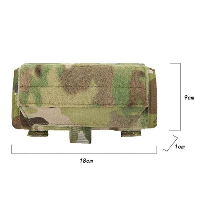 First Spear ADMIN Chest Bag Tactical Front Foldable Molle Pouch -Multicam