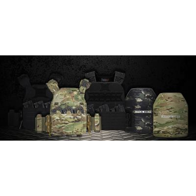 UTA 2Pcs NIJ IIIA Ultralightweight Body Armor Tactical Ballistic Plate