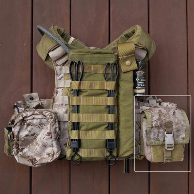 LBT Tactical Molle Dump Pouch 500D CORDURA Modular Accessories Bag- Multicam