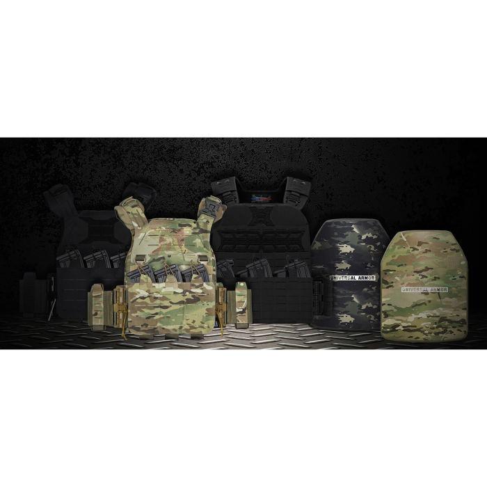 UTA NIJ III Ultralightweight Body Armor Tactical Ballistic Plate