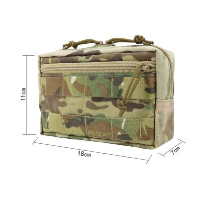 Tactical Dump Pouch Horizontal Extended Tactical Accessories Molle Pouch- HUP Multicam