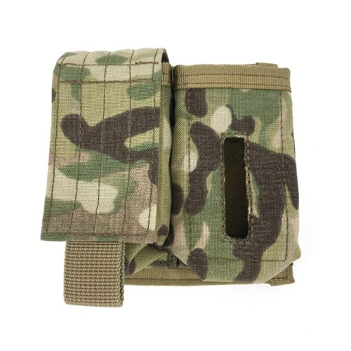 SOE NSW Helmet Accessories Tactical Pouch Survival Lamp Holder MS2000 MARSOC Battery Tool Bag - Multicam