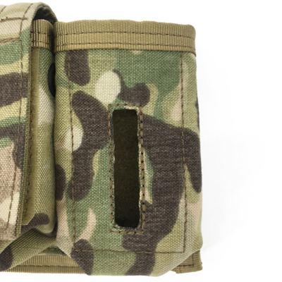 SOE NSW Helmet Accessories Tactical Pouch Survival Lamp Holder MS2000 MARSOC Battery Tool Bag - Multicam
