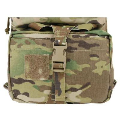Mayflower 500D CORDURA Tactical Hunting Hydration Bag Assault Back Panel Attached Molle Bag - Multicam