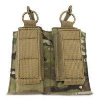 TAG Molle 566 Double Mag Pouch 500D Cordura Wearproof Tactical Hunting Accessories Pouch- MC