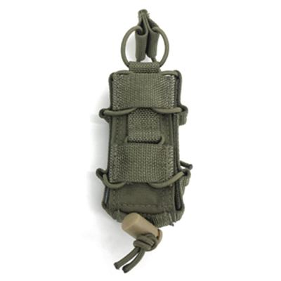 TYR 500D Cordura 9mm Single Tactical Mag Pouch Outdoor Tactical Hunting Accessories Pouch- MC