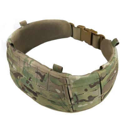 UTA AVS Low Profit Rattlesnake Belt Laser Cutting Molle Tactical Belt Set- MC