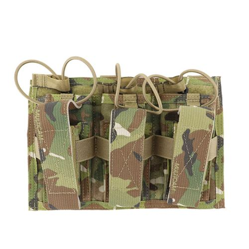 Paraclete Tactical Triple Mag Pouch - MC