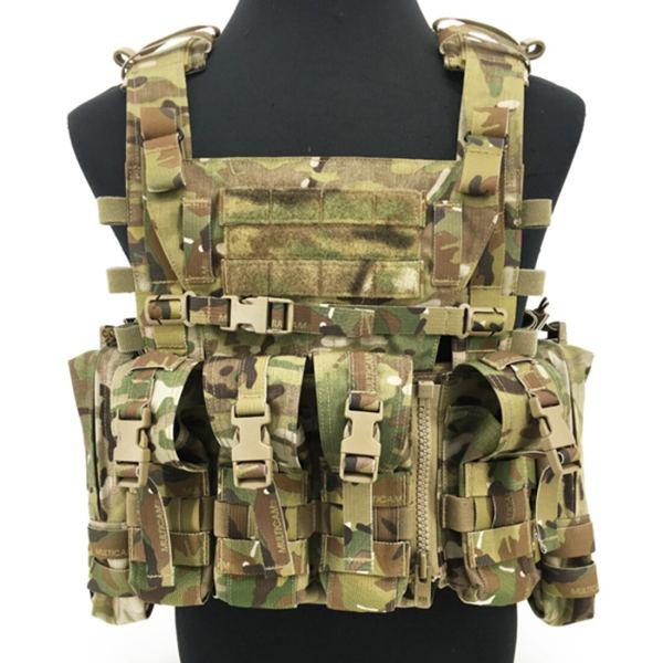 500D Cordura AVS Detachable Chest Rig Outdoor Tactical Hunting Vest Loadout Accessories- MC