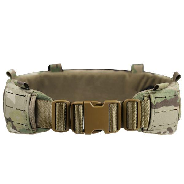 UTA AVS Low Profit Rattlesnake Belt Laser Cutting Molle Tactical Belt- MC