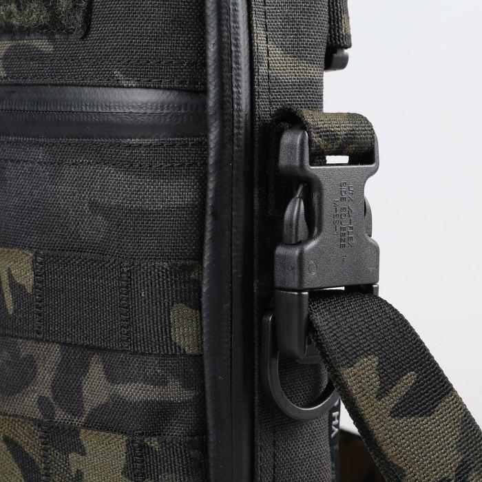 YHGEAR 1000D Cordura EDC Molle Bag Outdoor Tactical Shoulder Pack- MCBK