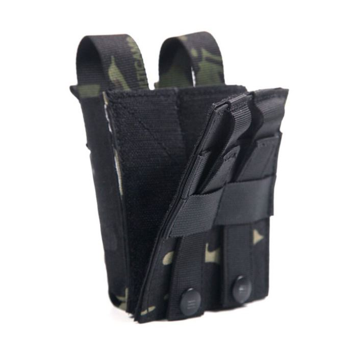 Tactical Heated Mag Pouch 556 9mm Double Hunting Molle Mag pouch for Winter Airsoft