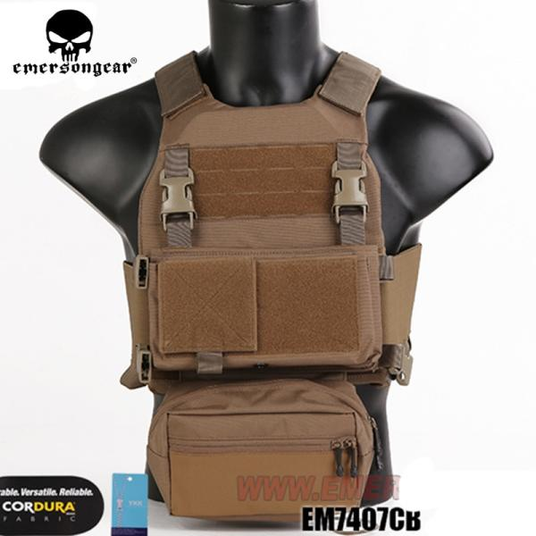 Emersongear MILITECH FCSK CQC MOLLE MK3 Chest Rig Premium Set Tactical Vest