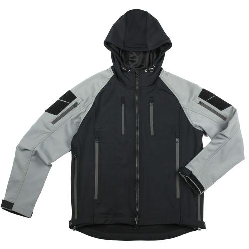 Bacraft TRN Tactical Waterproof Warm Coat  -Carbon Black