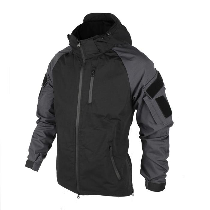 Bacraft TRN Outdoor Tactical Combat Coat Spring Autumn Hoodie Tactical Jacket