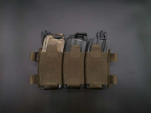 Bifoot Triple Mag Pouch 556 762 Mag Pouch Plate Carrier Accessories for GTPC JPC
