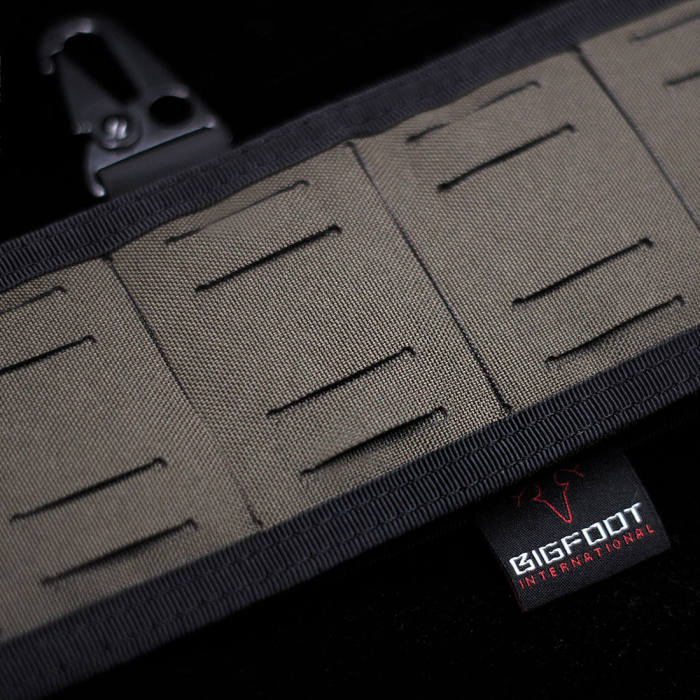 Bigfoot Orion 4.0 Laser Cutting Silicone Tactical Waistband Belt