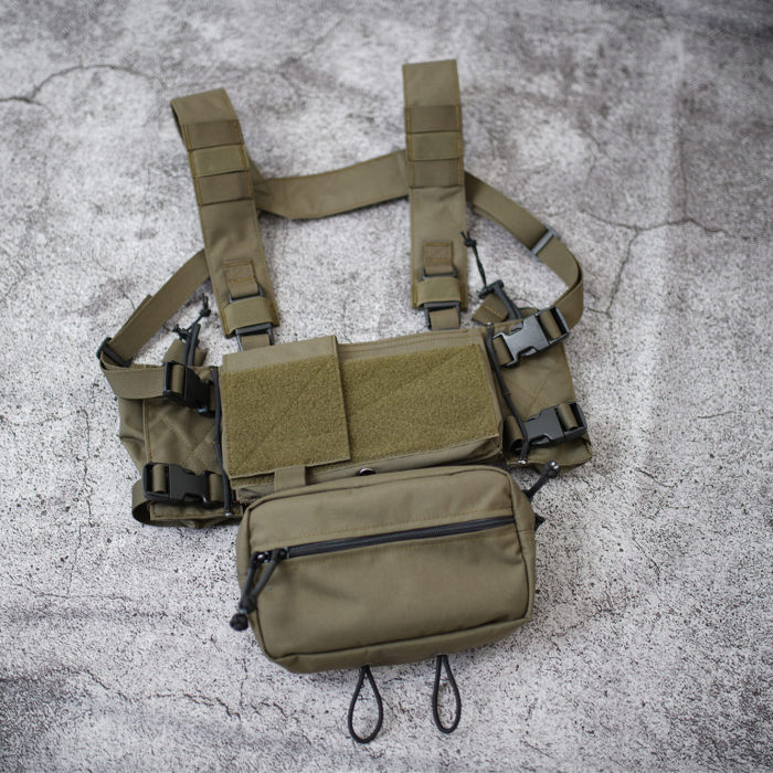 Workerkit Tactical MK3 Chest Rig Chassis Pouch