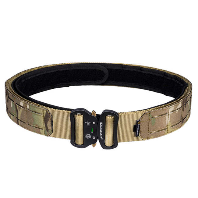 IDOGEAR 2 inch Laser Cutting Tactical MOLLE Military Belt