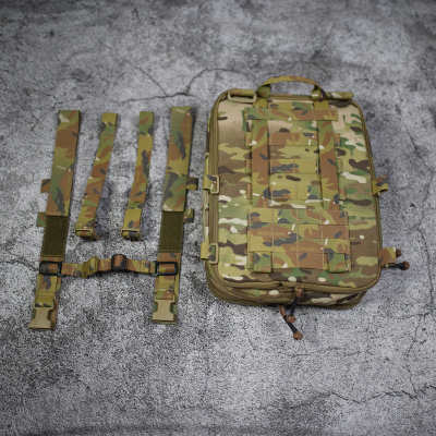 Bigfoot Tactical D3 Flatpack Plus Molle Hunting Hydration Bag