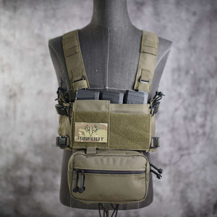 Bigfoot Chassis MK3 Chest Rig SACK Sub Abdominal Pouch