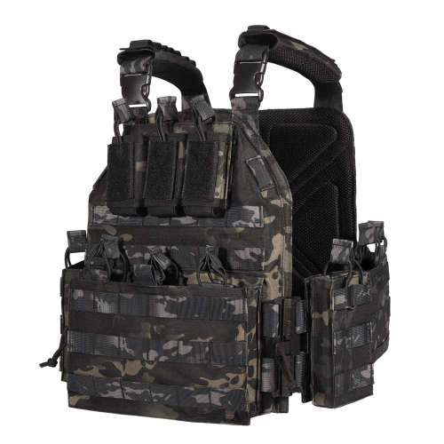 YAKEDA Upgrade Nylon Tactical  Plate Carrier Vest -VT6026-1