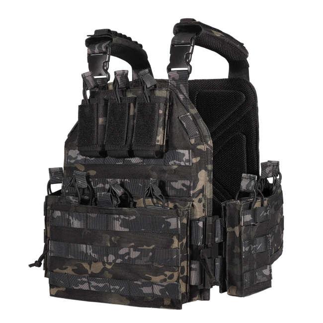 YAKEDA Upgrade Nylon Tactical  Plate Carrier Vest -VT6026-1