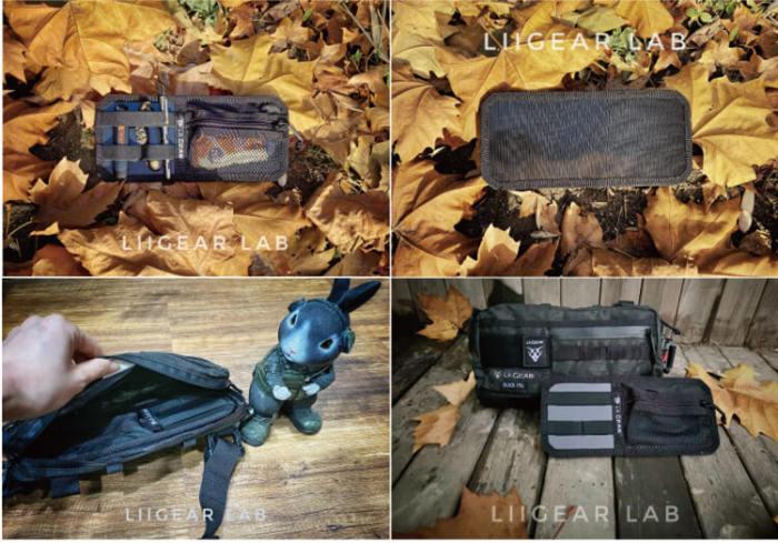 Lii Gear Mr Control EDC Bag Universal Single Shoulder Bag Tactical Chest Bag