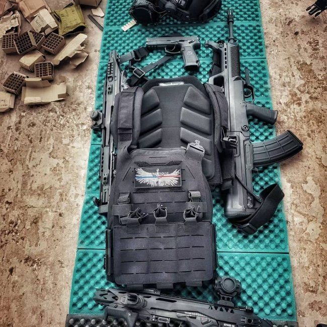 UTA 2Pcs Tactical Plate Carrier Cooling Pads Breathable Fishbone Pads