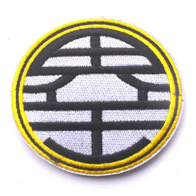 7.5cm Dragon Ball Tactical Military Embroidered Badge DIY Morale Patches