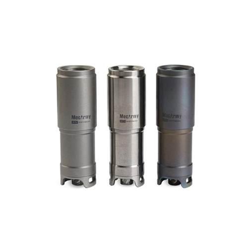 Mecarmy Illumine X1S 130 Lumens Mini Rechargeable Titanium Keychain Flashlight
