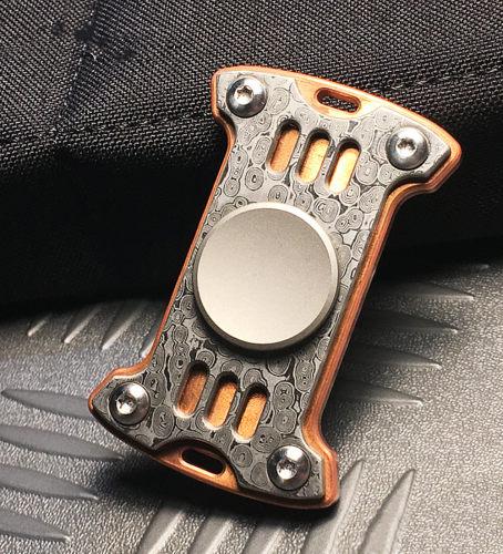 Mecarmy GP1 Damascus Limited Edtion Fidget Spinner