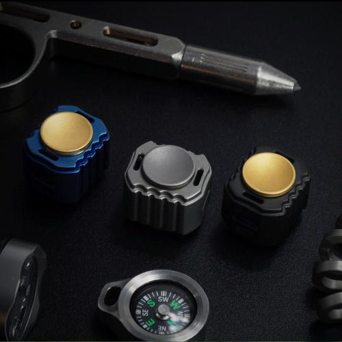 Mecarmy GP6 Titanium Fidget Spinner