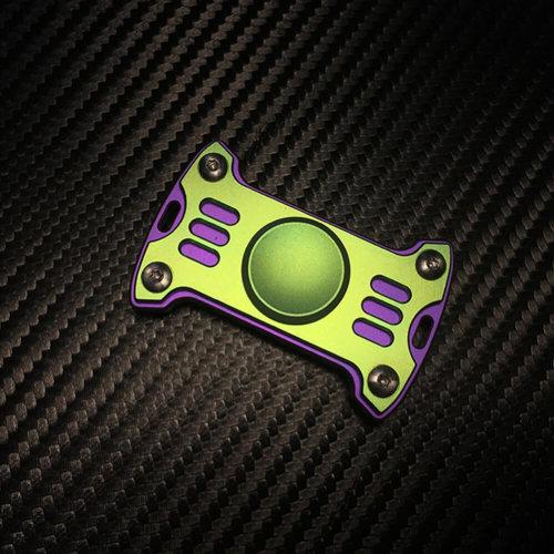Mecarmy GP1 Colorful Titanium Fidget Spinner