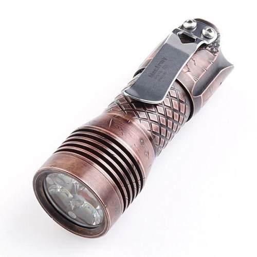 Mecarmy PS16 Limited Edition COPPER 2000 Lumens EDC Flashlight